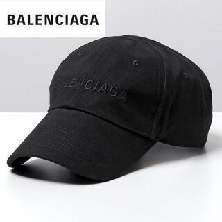 Balenciaga - BALENCIAGA バレンシアガ 2021最新 LOGO CAP BLACK