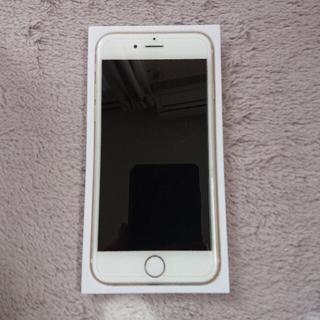 アイフォーン(iPhone)のiPhone 6 Gold au 美品(スマートフォン本体)