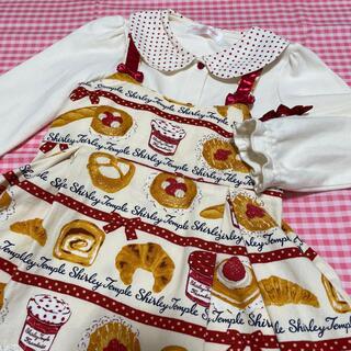 Shirley Temple - シャーリーテンプル ベーカリーワンピース ジャム瓶ブラウス