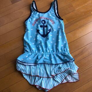 女の子 水着セパレート150