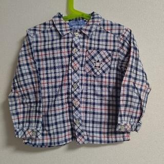ファミリア(familiar)の☆ファミリアfamiliar☆ワンポイントファミちゃんチェックシャツ 110(Tシャツ/カットソー)