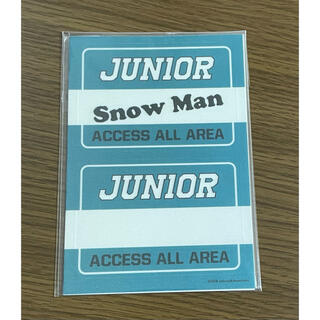 Johnny's - SnowMan ステッカー