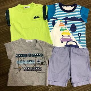 ファミリア(familiar)のファミリア tシャツ パンツ4枚セット(Tシャツ/カットソー)