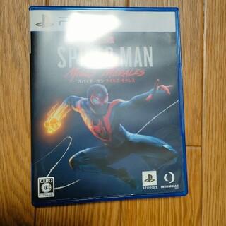 プレイステーション(PlayStation)のスパイダーマン ps5 特典コード付(家庭用ゲームソフト)