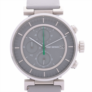 イッセイミヤケ(ISSEY MIYAKE)のイッセイミヤケ  SS×革   メンズ 腕時計(腕時計(アナログ))