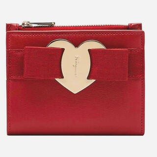 サルヴァトーレフェラガモ(Salvatore Ferragamo)のフェラガモ バレンタイン限定ハートヴァラ ミニ財布コンパクトウォレット(折り財布)