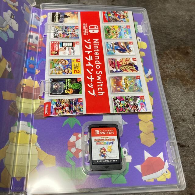 ペーパーマリオ オリガミキング Switch エンタメ/ホビーのゲームソフト/ゲーム機本体(家庭用ゲームソフト)の商品写真