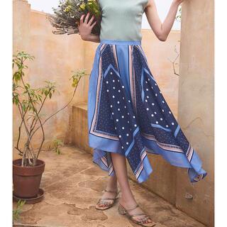 31 Sons de mode - 31sonsdemode スカーフ柄スカート