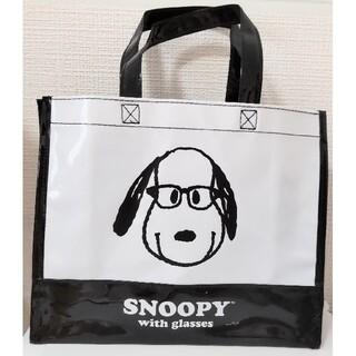 スヌーピー(SNOOPY)の新品 glasses スヌーピー コラボ トートバッグ バッグ(トートバッグ)