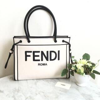 FENDI - FENDI ローマ ショッパー キャンバス トートバッグ フェンディ
