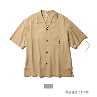 ソフ(SOPH)のオープンカラーシャツ(5分袖)1MW by SOPH. GU サイズL(Tシャツ/カットソー(半袖/袖なし))