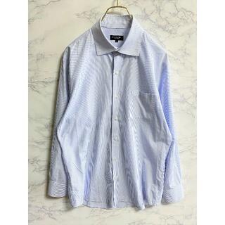 ブラックレーベルクレストブリッジ(BLACK LABEL CRESTBRIDGE)のブラックレーベルクレストブリッジ ストライプシャツ Yシャツ XL(シャツ)
