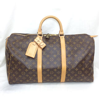 LOUIS VUITTON - 正規極美品!ルイヴィトン キーポル モノグラム ボストン 旅行バッグ