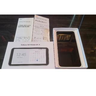 Galaxy - 新品同様Galaxy 5G Mobile Wi-Fi SCR01   即日発送!