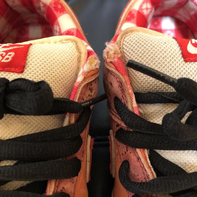 NIKE(ナイキ)の激レア ナイキ 28センチ   ダンク ロー レッドロブスター 10回着用 中古 メンズの靴/シューズ(スニーカー)の商品写真