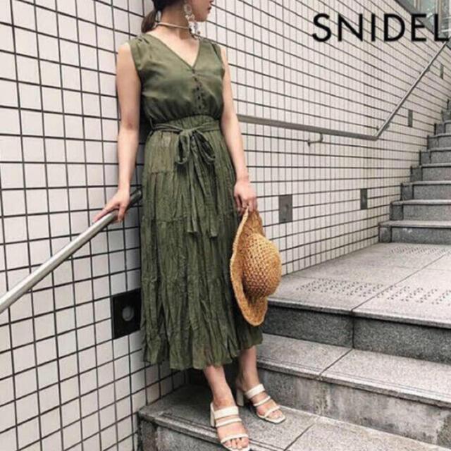 snidel(スナイデル)のスナイデル SNIDEL ワンピース  レディースのワンピース(ロングワンピース/マキシワンピース)の商品写真