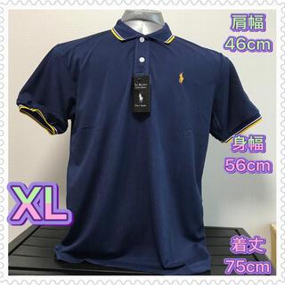 POLO RALPH LAUREN - 【新品・未使用】Polo ポロシャツ XL (タグ有り) ダークブルー 紺色