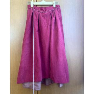 オリーブデオリーブ(OLIVEdesOLIVE)のOLIVE des OLIVE 膝下スカート(ひざ丈スカート)