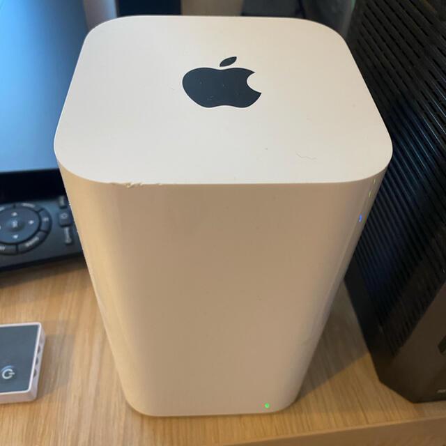 Apple(アップル)のAirMac Extreme 802.11ac アップル Apple スマホ/家電/カメラのPC/タブレット(PC周辺機器)の商品写真