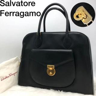 サルヴァトーレフェラガモ(Salvatore Ferragamo)のフェラガモ ガンチーニ A4 ハンドバッグ ビジネスバック(ハンドバッグ)