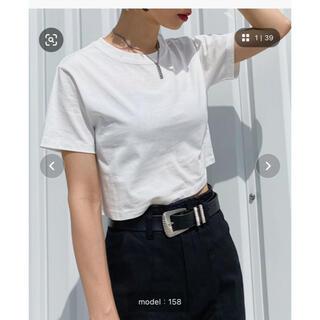 PAGEBOY - ショート丈 Tシャツ