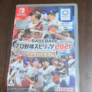 eBASEBALL プロ野球スピリッツ2021 グランドスラム Switch(家庭用ゲームソフト)