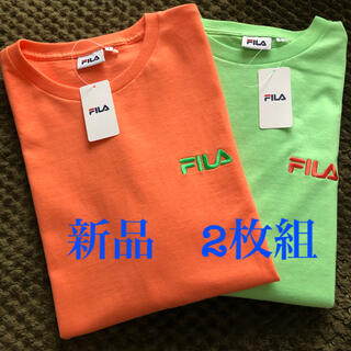 FILA - FILA BTSコラボTシャツ  正規品 2枚セット 新品タグ付き 最終値下げ