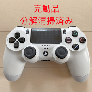 PlayStation4 - 完動品 SONY PS4 純正 コントローラー DUALSHOCK4 ホワイト