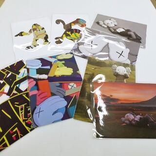 sacai - 新品 KAWS TOKYO FIRST ポストカード 全8種 セット カウズ