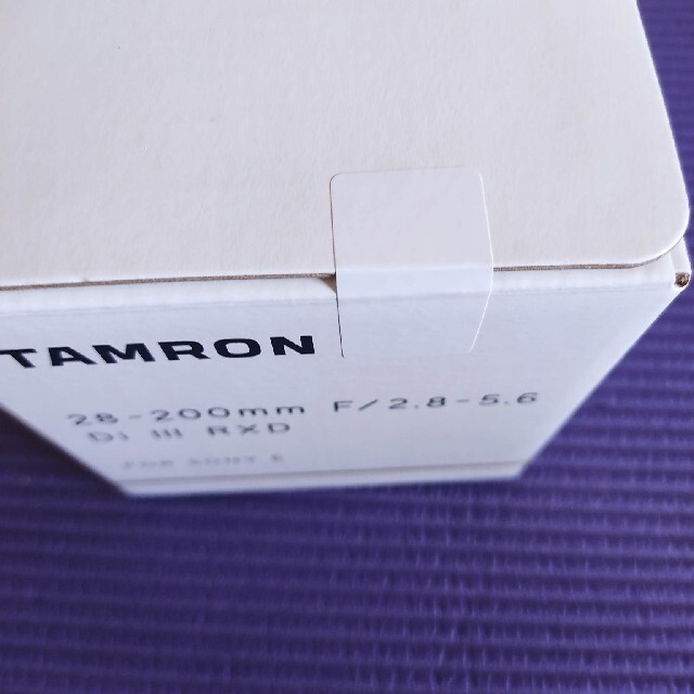 TAMRON(タムロン)の※新品未開封※タムロン28−200mmF2.8−5.6 Di Ⅲ RXD スマホ/家電/カメラのカメラ(レンズ(ズーム))の商品写真