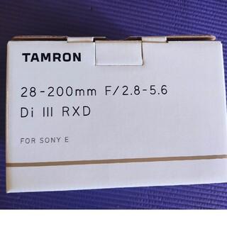 TAMRON - ※新品未開封※タムロン28−200mmF2.8−5.6 Di Ⅲ RXD