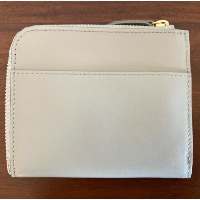 北欧、暮らしの道具店 L字 ミニ財布 グレー レディースのファッション小物(財布)の商品写真