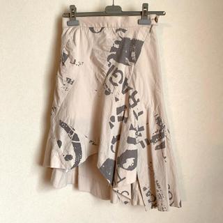 Vivienne Westwood - ヴィヴィアン ウエストウッド アシンメトリースカート