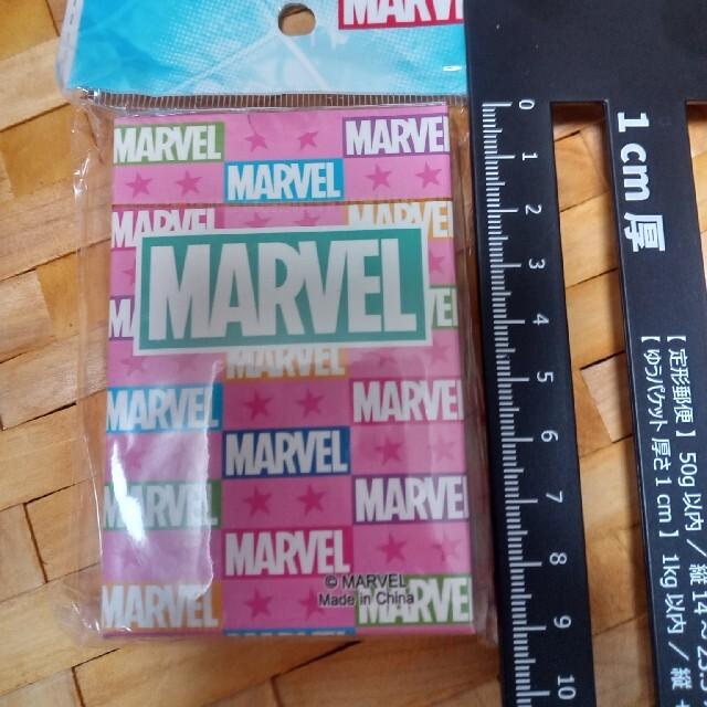 MARVEL(マーベル)のマーベル MARVEL トランプ ピンク エンタメ/ホビーのテーブルゲーム/ホビー(トランプ/UNO)の商品写真