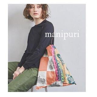 UNITED ARROWS - ユナイテッドアローズ 購入 manipuri マニプリ トートバッグ スカーフ