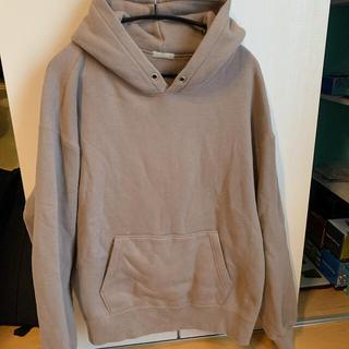 コモリ(COMOLI)のulterior パーカー サイズ4 rose-grey(パーカー)