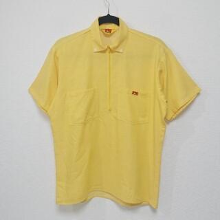 ベンデイビス(BEN DAVIS)のS 80s ベンデイビス BEN DAVIS ハーフジップ シャツ USA製(シャツ)