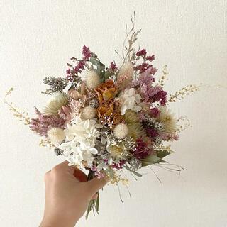 ドライフラワー 花束 ブーケ 贈り物 プレゼント スワッグ ウェルカムスペース