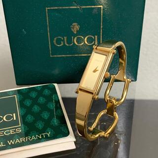 Gucci - グッチ 腕時計 ウォッチ 1500 ヴィンテージ ゴールド レディース