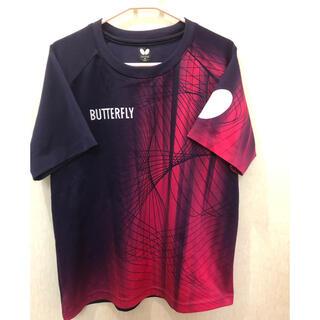 バタフライ(BUTTERFLY)のバタフライ Tシャツ(卓球)