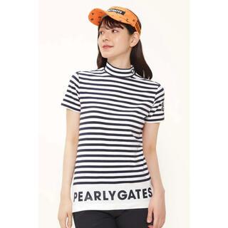 パーリーゲイツ(PEARLY GATES)のパーリーゲイツ モックネックシャツ レディース サイズ2(ウエア)
