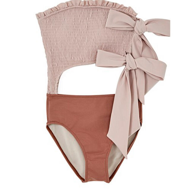 snidel(スナイデル)のherlipto 水着 Double Bow One Piece Sサイズ レディースの水着/浴衣(水着)の商品写真