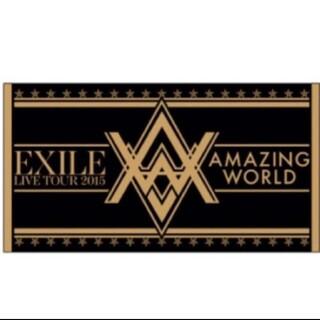 エグザイル(EXILE)のEXILE ライブツアー AmazingWorld ビーチタオル(ミュージシャン)
