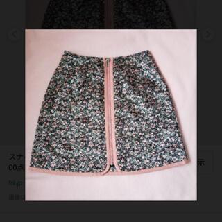 snidel - スナイデル花柄ミニスカート