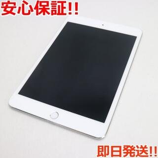 アップル(Apple)の美品 SIMフリー iPad mini 4 64GB シルバー (タブレット)