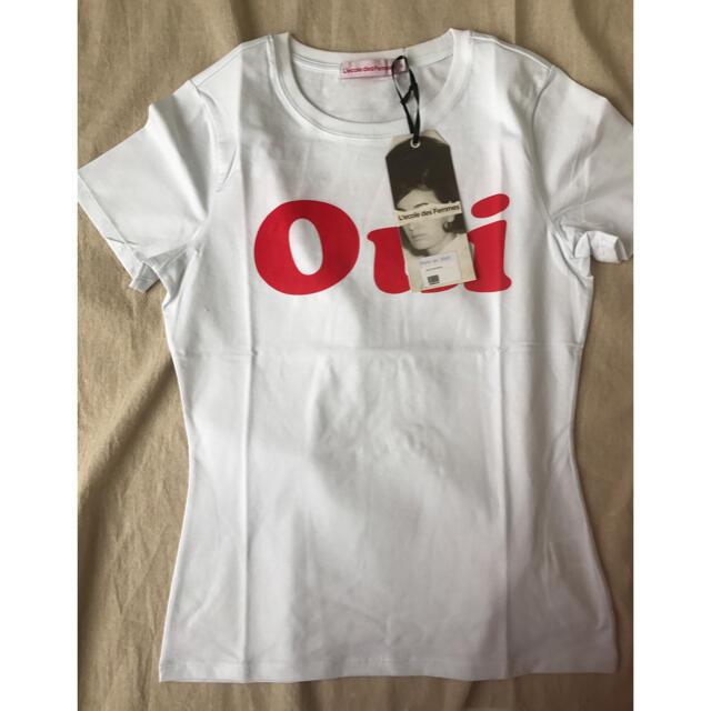 EDIT.FOR LULU(エディットフォールル)のL'ecole Des Femmes OUI & NON Tシャツ M レディースのトップス(Tシャツ(半袖/袖なし))の商品写真