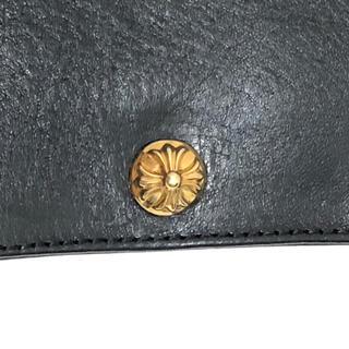 クロムハーツ(Chrome Hearts)のクロムハーツ  22k 1スナップウォレット 財布 ウェーブ ベイビーファット(折り財布)