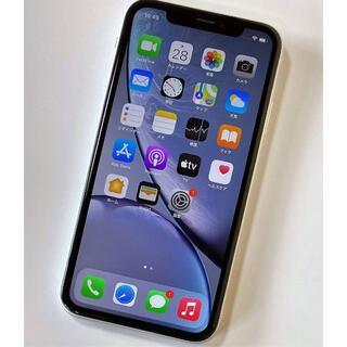 Apple - SIMフリー iPhone XR  64GB    90%    白
