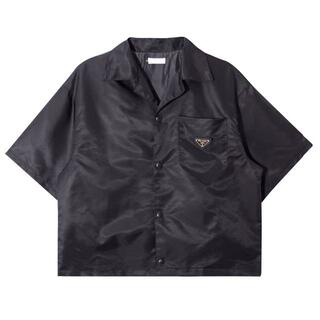PRADA - 送料込 プラダ ナイロンTシャツ ブラック