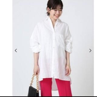DEUXIEME CLASSE - EVERYDAY I LIKE. ワイドシャツ (Linen)